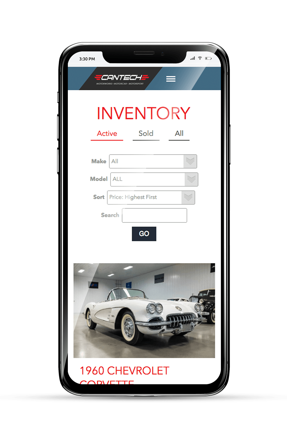 Cantech Mobile Inventory