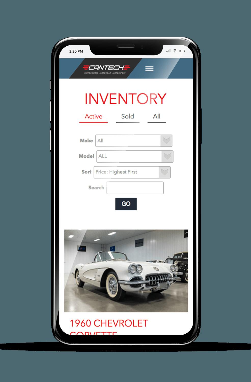 Cantech Mobile Inventory