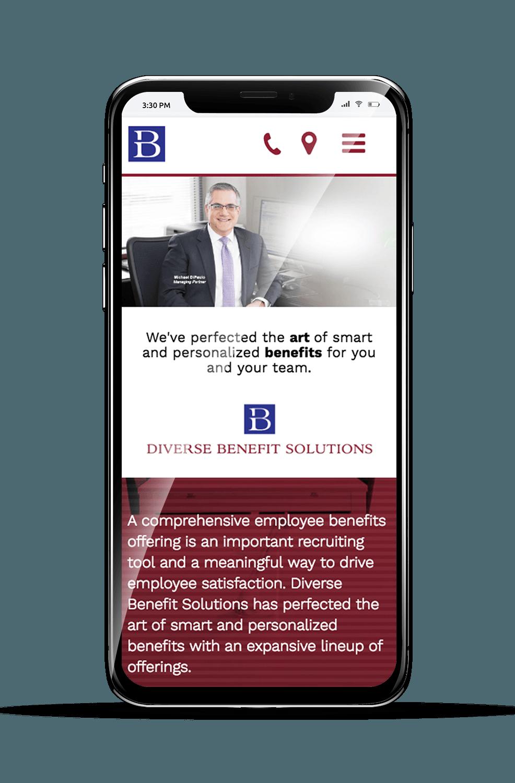 DBS Mobile Mockup