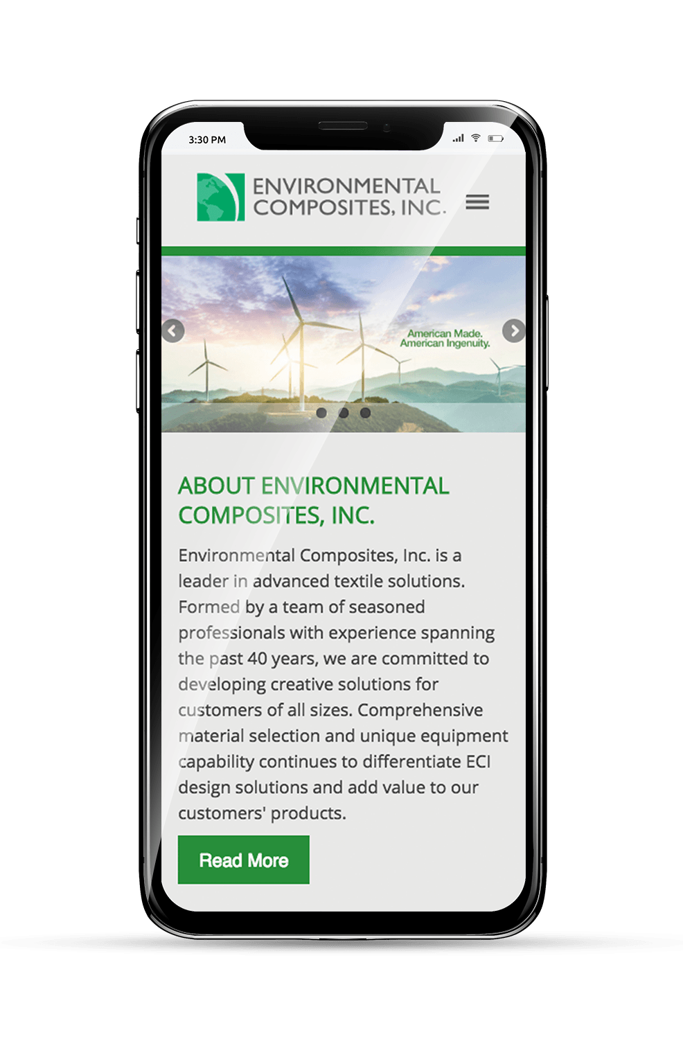ENCO Mobile Homepage