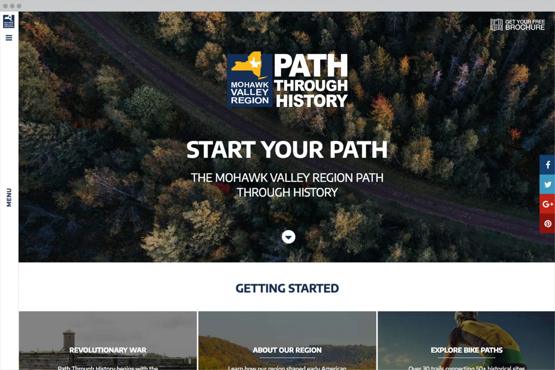 MVPTH Homepage Design