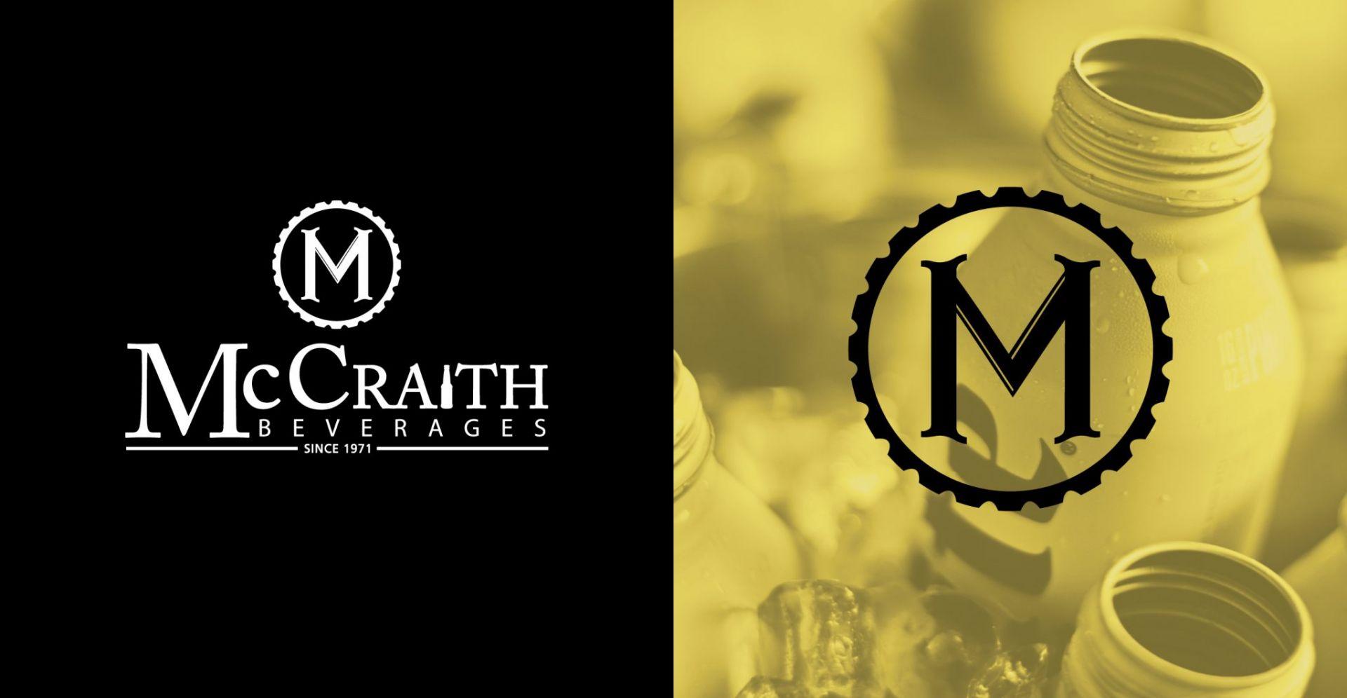 McCraith White Logo & Emblem