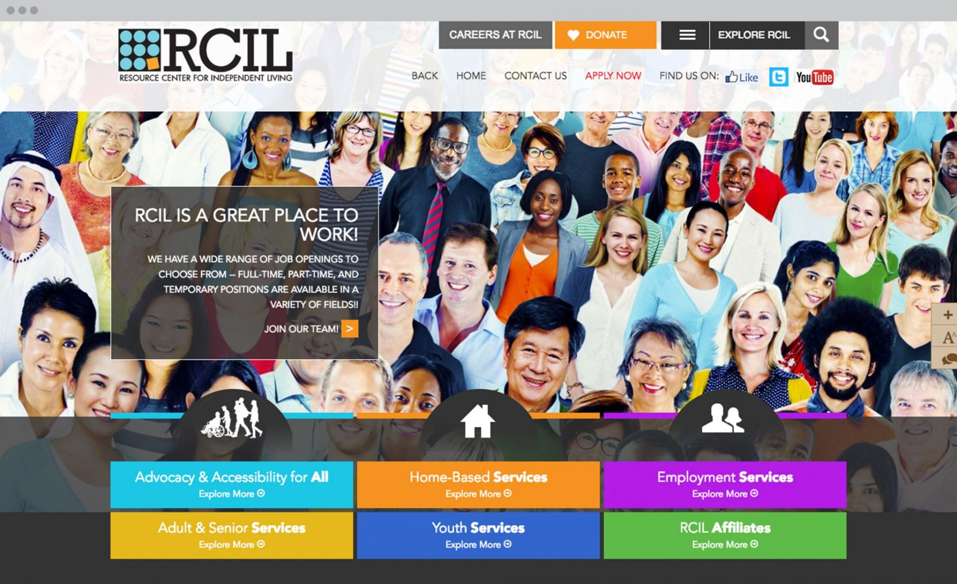 RCIL Desktop Design
