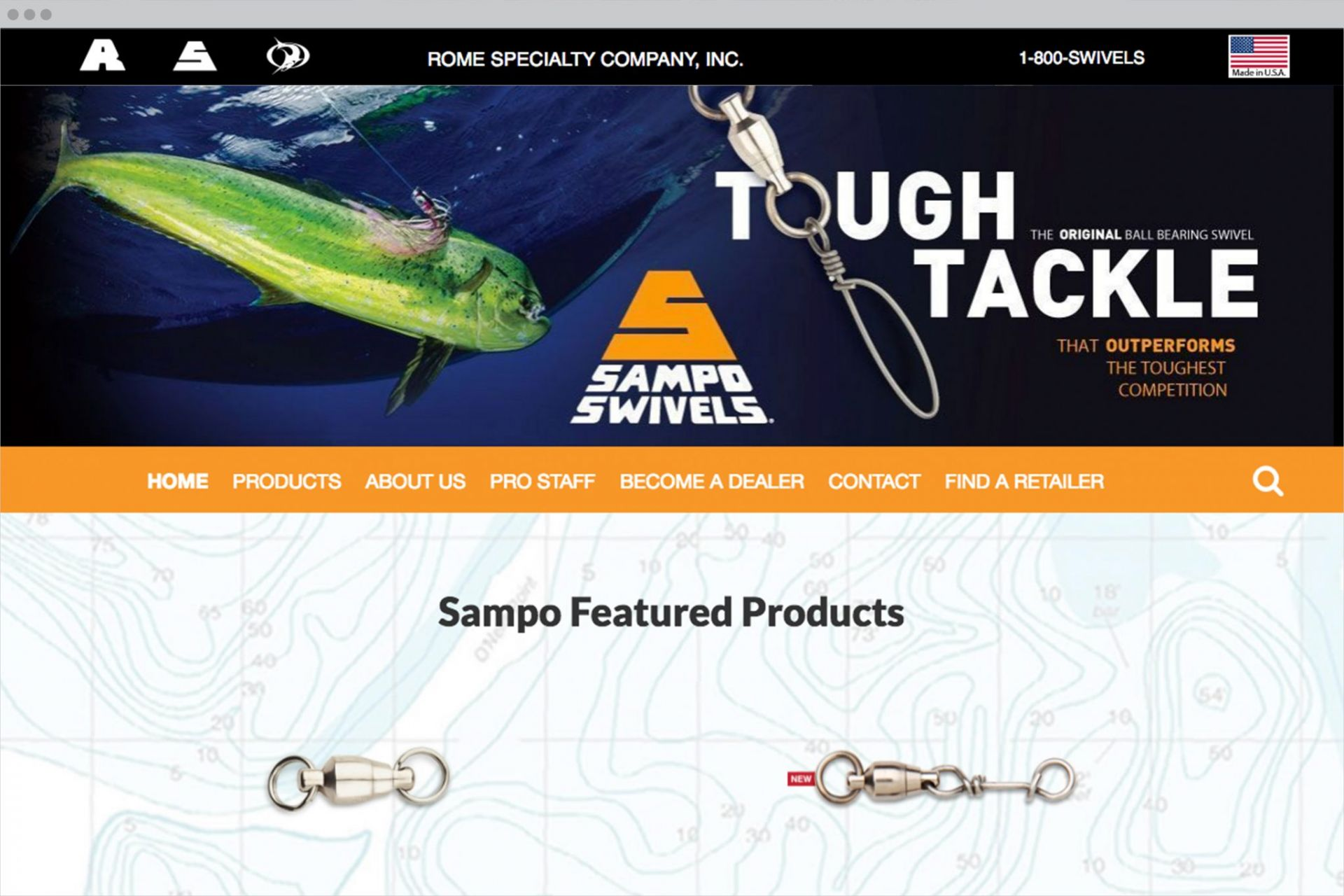 Sampo Homepage Design
