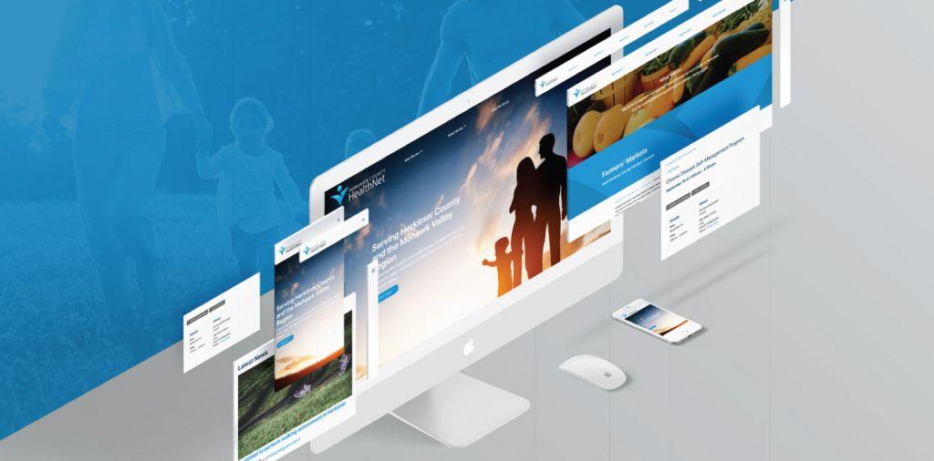Herkimer HealthNet Website Mockup