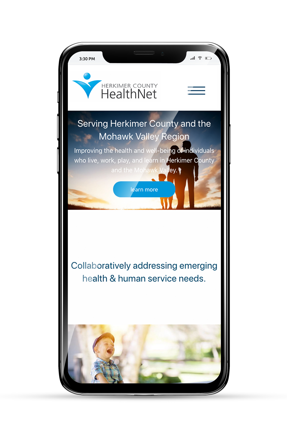 Herkimer County HealthNet Mobile Homepage