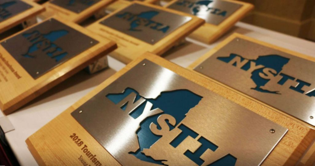 NYSTIA Niche Marketing Awards on Table